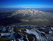 Lava and moss around Mt Hekla, a stratovolcano, Central Highlands, Iceland.