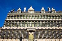 Belgium, Flanders, Ghent (Gent). Stadhuis Gent, City Hall building on Botermarkt.