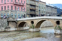 Prince bridge of Sarajevo, Bosnia and Herzegovina.