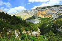 The Valley of Escuaín. Ordesa and Monte Perdido National Park. Aragonese Pyrenees, Huesca province, Spain
