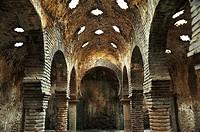 Arab baths. XIIIth century. Ronda, Malaga province, Spain
