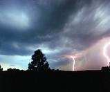 Poland. Thunderstorm