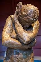 statue ´Eva´ from Rodin, museum, Groningen, Holland