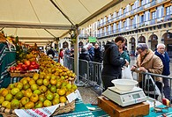 Green Vegetables and Fruits, Feria de Santo Tomás, The feast of St. Thomas takes place on December 21. During this day San Sebastián is transformed in...