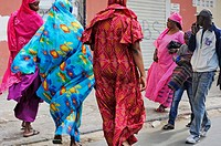 Medina district, Dakar, Senegal, West Africa.