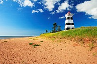 West Point Lighthouse at Prince Edward Island
