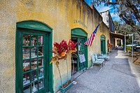 Cholokka Boulevard in Micanopy in Alachua County. Florida's self-proclaimed antiques capital. Named in honor of a Seminole Indian chief and settled in...