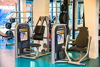 equipment at gymnasium at a fitness centre