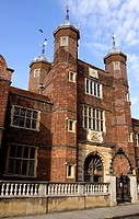 Abbot's Hospital alms house High Street Guildford Surrey.